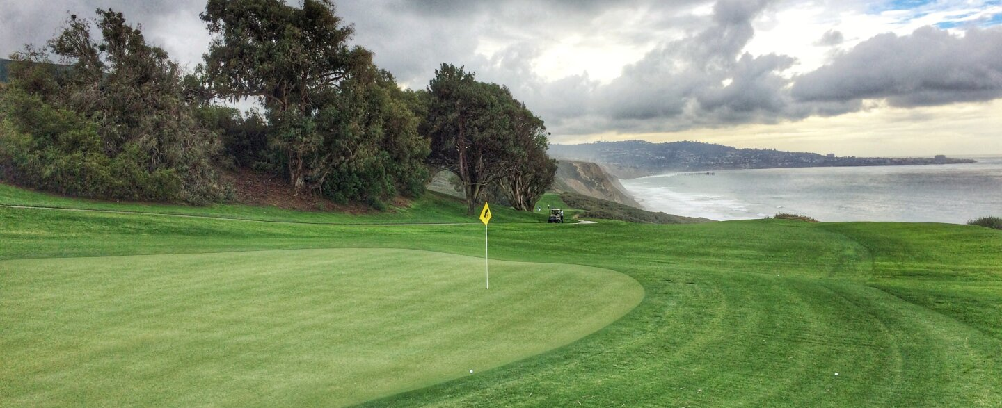 The North at Torrey Pines Golf Course in San Diego - hole 16