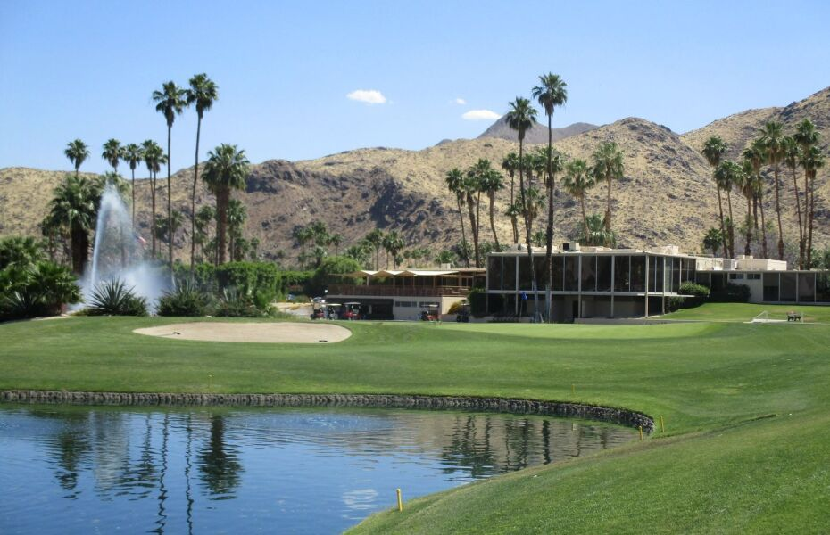 Seven Lakes Country Club in Palm Springs, California, USA ...
