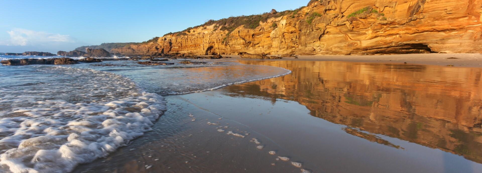 Caves Beach Central Coast NSW Australia - Morning Seascape