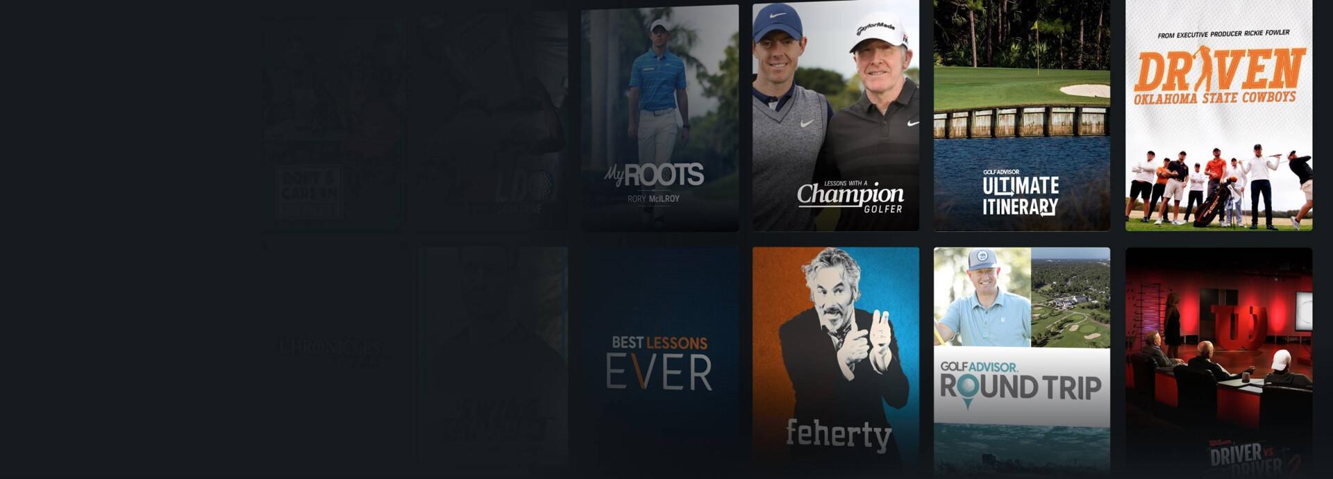 GolfPass Show poster lead