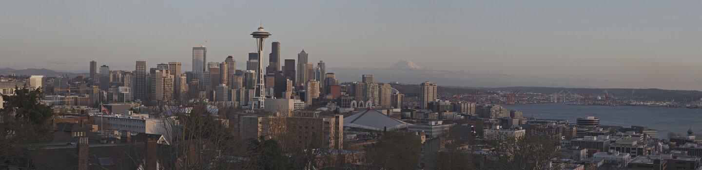Seattle, Washington Sklyine Composite