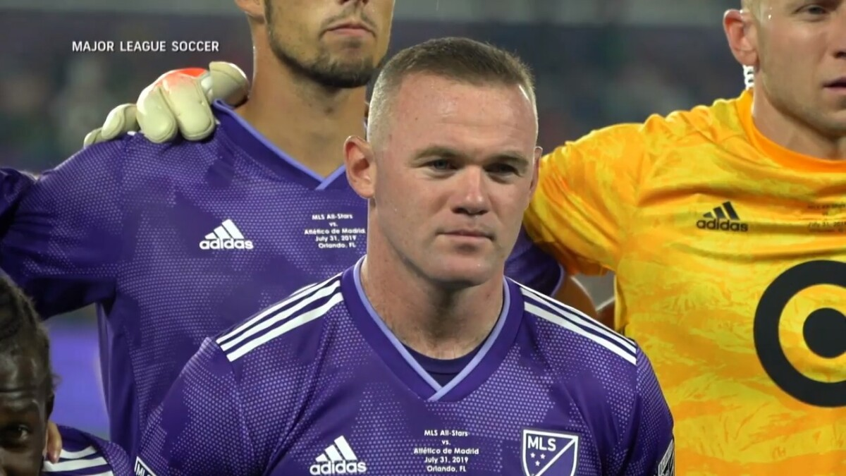 Wayne Rooney - MLS All-Star