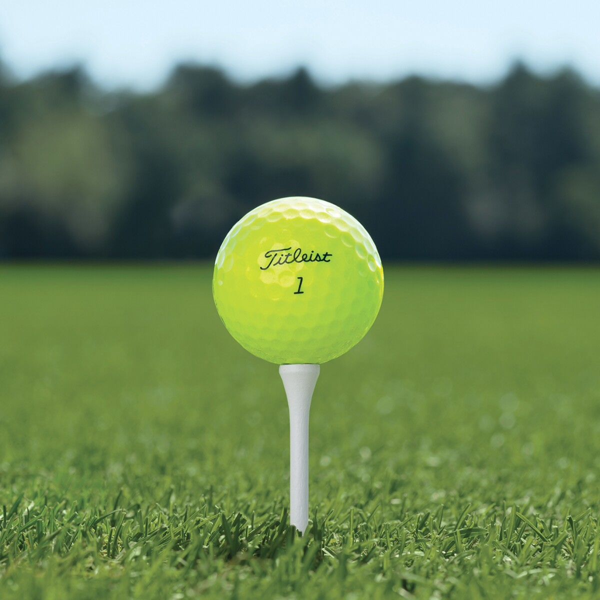 White Out: Why playing a yellow golf ball makes sense