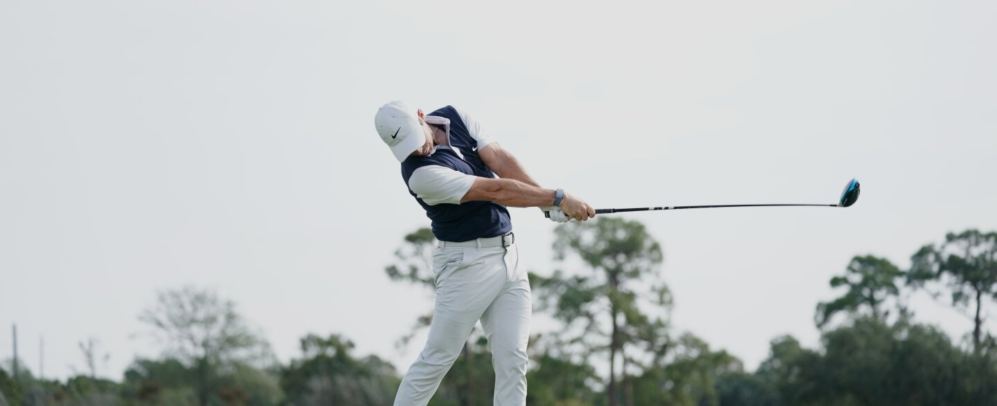 Rory McIlroy for GolfPass - 9 shots