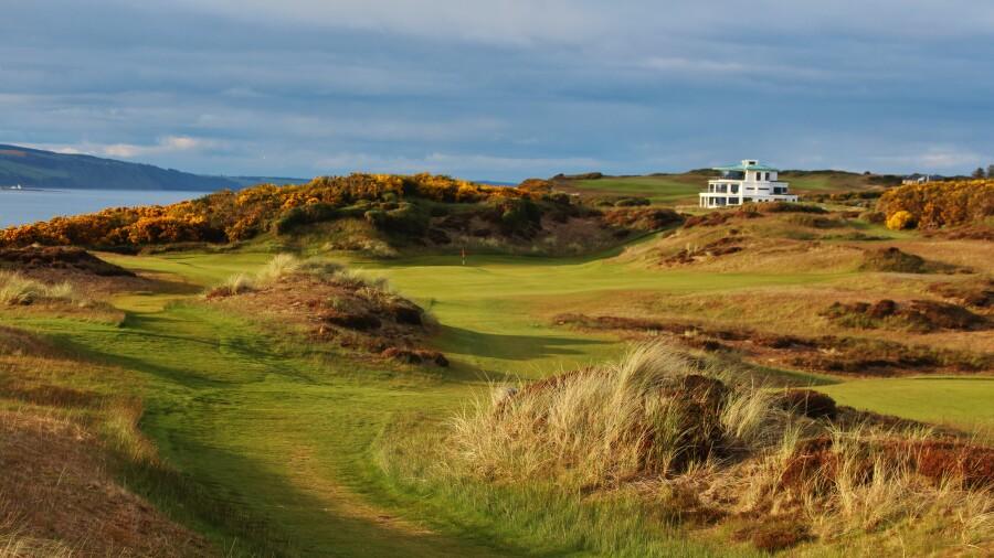 Scotland's 10 most scenic links courses
