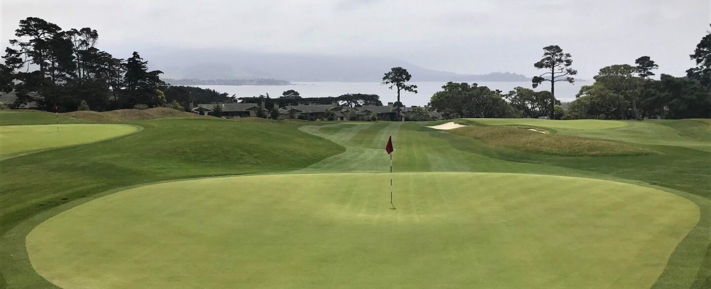 The Hay - 9th green