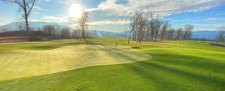 No Name Golf Course - hole 18