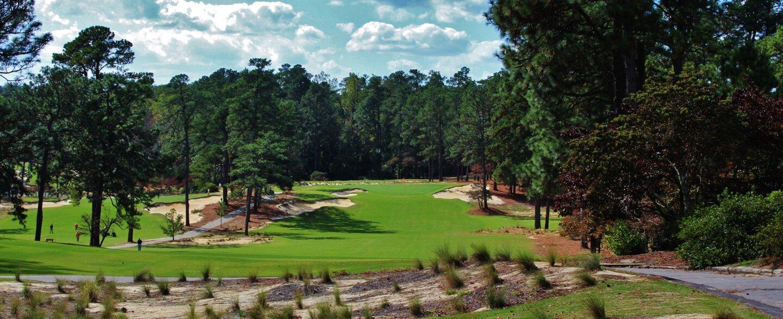 Mid Pines Golf Club - hole 1