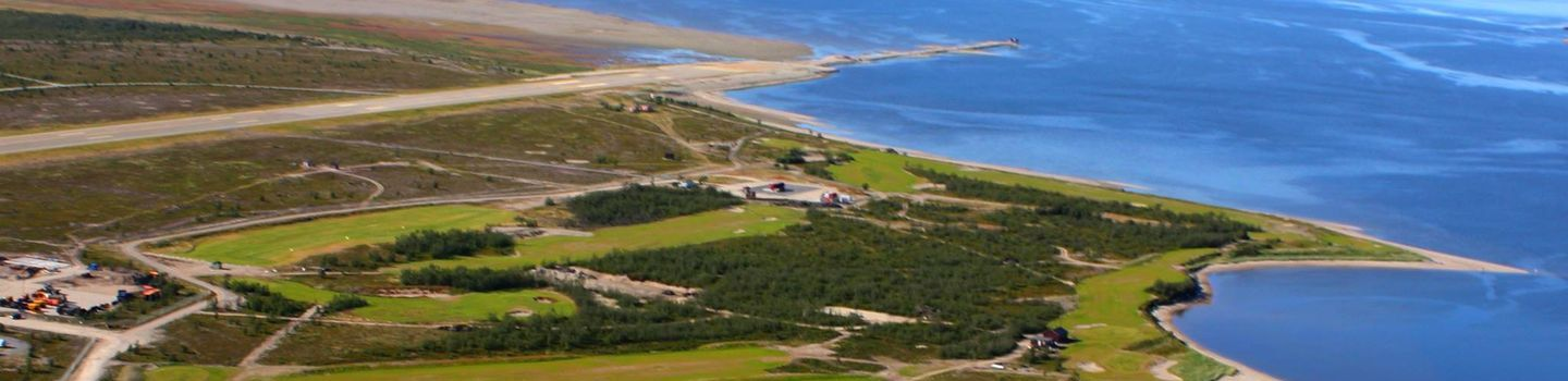 North Cape GC: Aerial view
