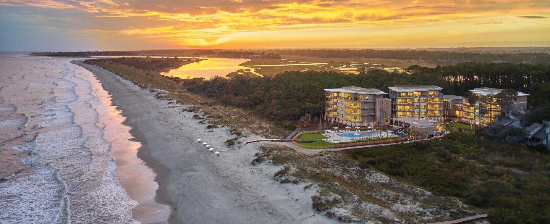 Timbers Kiawah resort property aerial