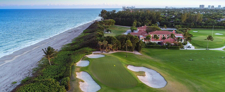 Seminole Golf Club hole 18