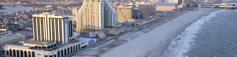 Atlantic City - beach view